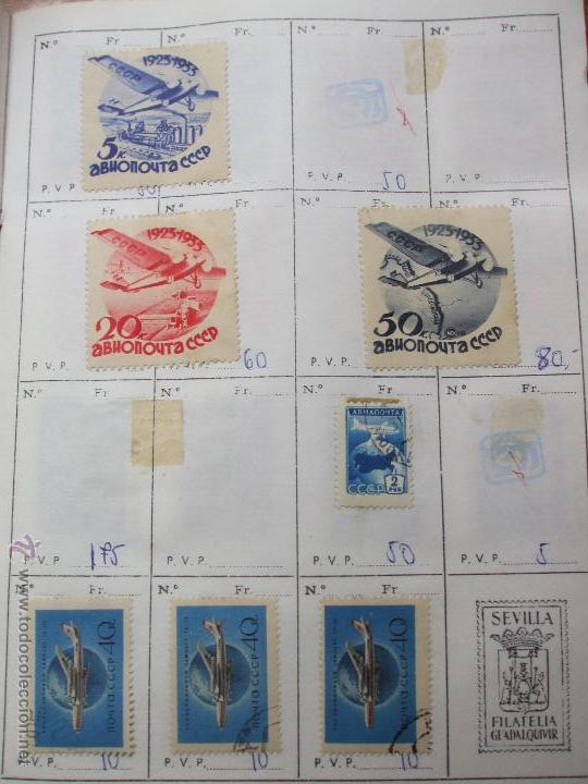 Sellos: .rusia 8 libretas aproximadamente 812 sellos clasificados, diversas calidades + fotos - Foto 90 - 50663116