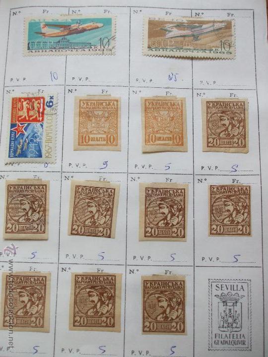 Sellos: .rusia 8 libretas aproximadamente 812 sellos clasificados, diversas calidades + fotos - Foto 93 - 50663116