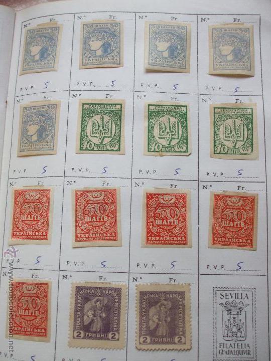 Sellos: .rusia 8 libretas aproximadamente 812 sellos clasificados, diversas calidades + fotos - Foto 94 - 50663116