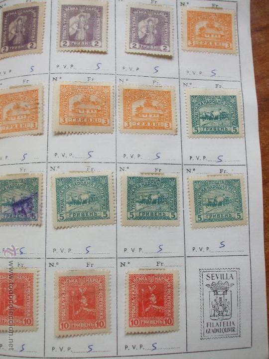Sellos: .rusia 8 libretas aproximadamente 812 sellos clasificados, diversas calidades + fotos - Foto 95 - 50663116