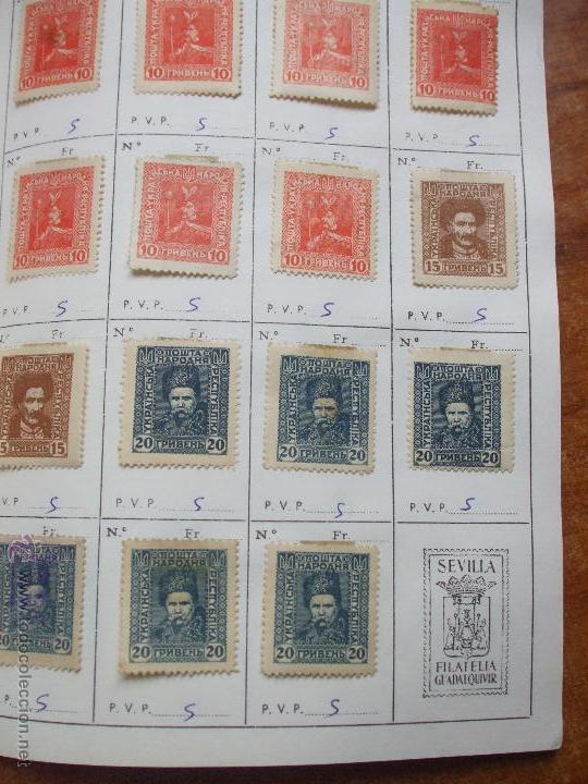 Sellos: .rusia 8 libretas aproximadamente 812 sellos clasificados, diversas calidades + fotos - Foto 96 - 50663116
