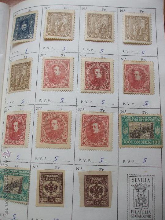 Sellos: .rusia 8 libretas aproximadamente 812 sellos clasificados, diversas calidades + fotos - Foto 97 - 50663116
