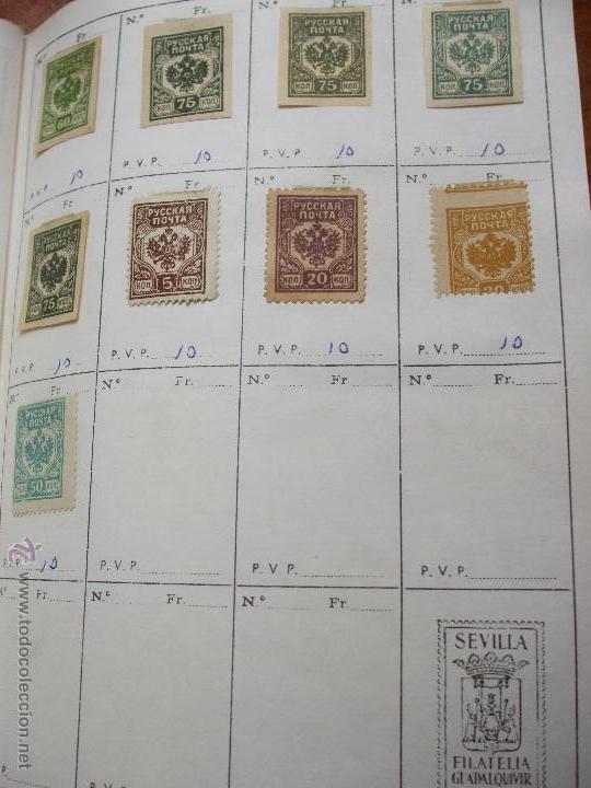 Sellos: .rusia 8 libretas aproximadamente 812 sellos clasificados, diversas calidades + fotos - Foto 99 - 50663116