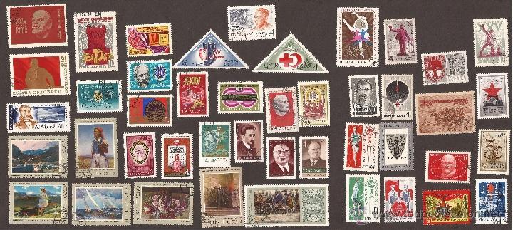 GOM-289_SELLOS URSS_AÑOS 1967 A 1975 (Sellos - Extranjero - Europa - Rusia)