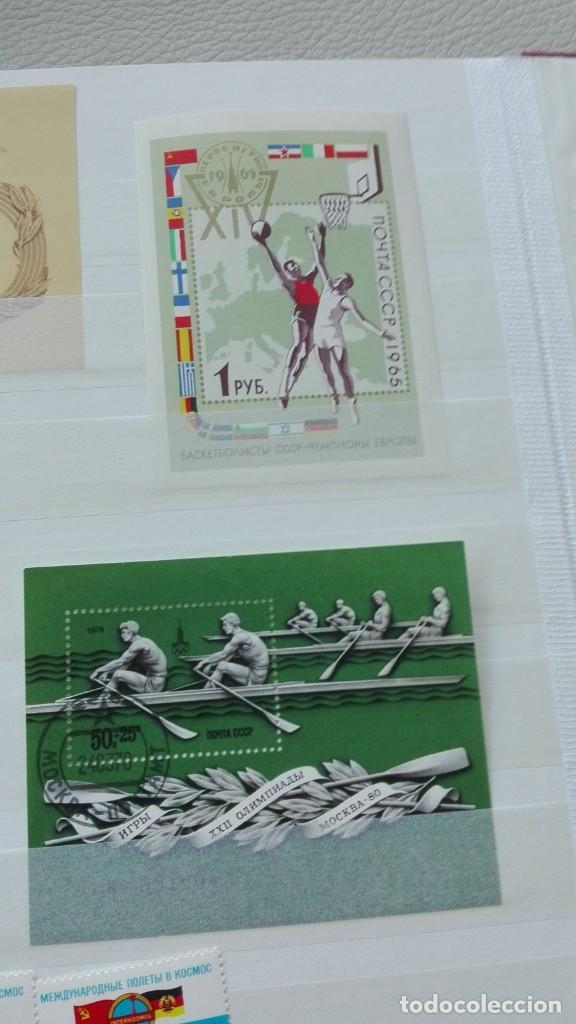 Sellos: Bonito lote de hojas bloque y sellos nuevos de Rusia - Foto 3 - 133660138