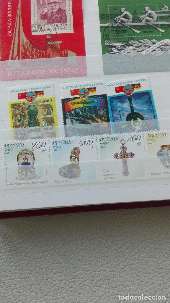 Sellos: Bonito lote de hojas bloque y sellos nuevos de Rusia - Foto 4 - 133660138