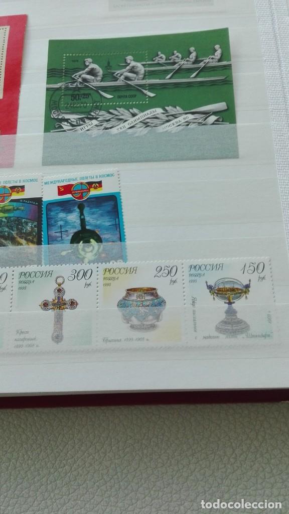 Sellos: Bonito lote de hojas bloque y sellos nuevos de Rusia - Foto 5 - 133660138