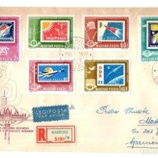 Sellos: SOBRE CIRCULADO MOSCU. AÑO 1953. Lote 142137806