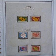 Sellos: TEMA EUROPA CEPT AÑO 1973 NO COMPLETO ¡¡ FALTA CHIPRE !! NUEVOS * * 6 FOTOS - LEER COMENTARIO. Lote 176128192