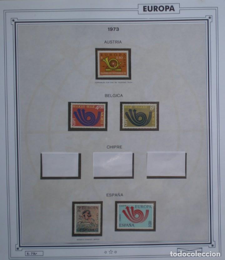 Sellos: TEMA EUROPA CEPT AÑO 1973 NO COMPLETO ¡¡ FALTA CHIPRE !! NUEVOS * * 6 FOTOS - LEER COMENTARIO - Foto 2 - 176128192