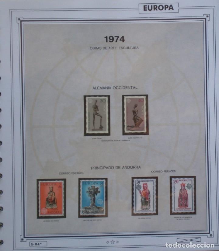 TEMA EUROPA CEPT AÑO 1974 COMPLETO NUEVOS * * 7 FOTOS - LEER COMENTARIO (Sellos - Extranjero - Europa - Rusia)