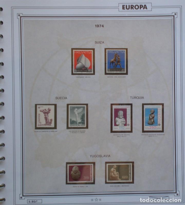 Sellos: TEMA EUROPA CEPT AÑO 1974 COMPLETO NUEVOS * * 7 FOTOS - LEER COMENTARIO - Foto 7 - 176129280