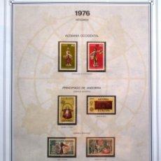 Sellos: EUROPA - CEPT - AÑO 1976 COMPLETO - NUEVOS * * 8 FOTOS - LEER COMENTARIO. Lote 176196479