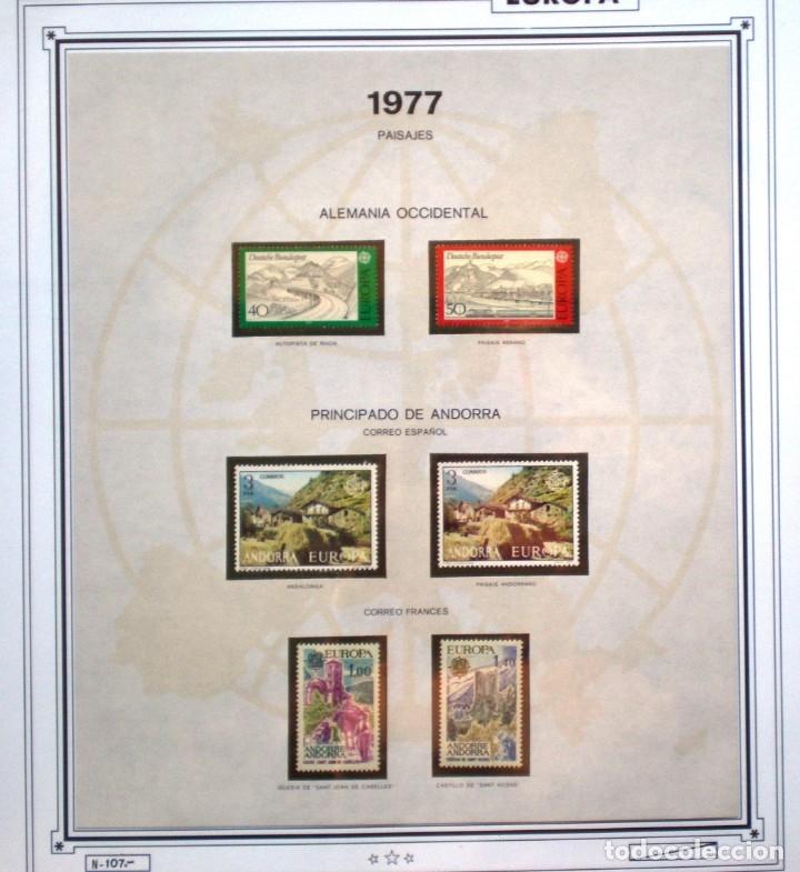 EUROPA CEPT AÑO 1977 COMPLETO NUEVOS * * 9 FOTOS - LEER COMENTARIO (Sellos - Extranjero - Europa - Rusia)