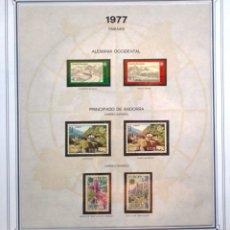Sellos: EUROPA CEPT AÑO 1977 COMPLETO NUEVOS * * 9 FOTOS - LEER COMENTARIO. Lote 176197714