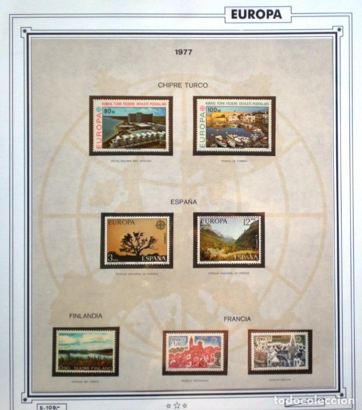 Sellos: EUROPA CEPT AÑO 1977 COMPLETO NUEVOS * * 9 FOTOS - LEER COMENTARIO - Foto 3 - 176197714