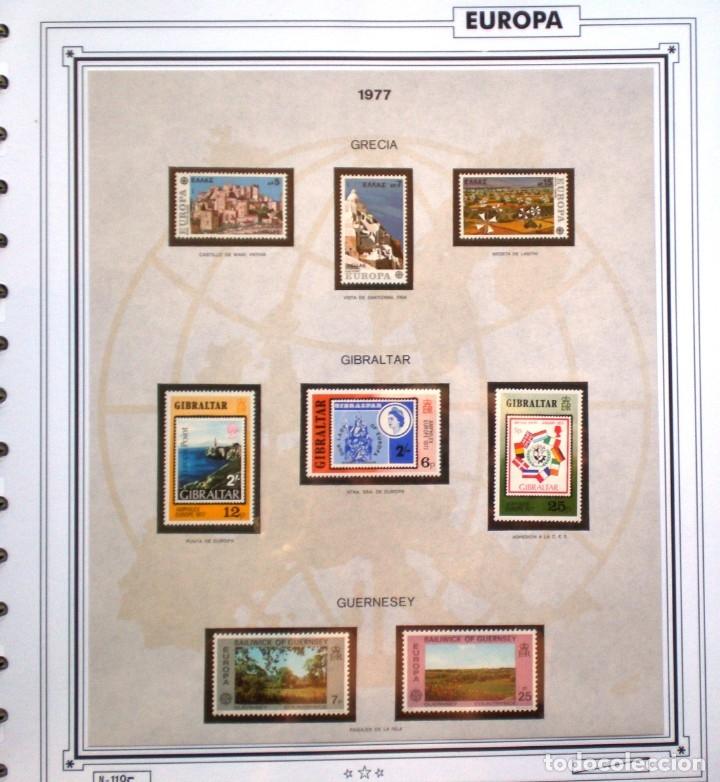 Sellos: EUROPA CEPT AÑO 1977 COMPLETO NUEVOS * * 9 FOTOS - LEER COMENTARIO - Foto 4 - 176197714