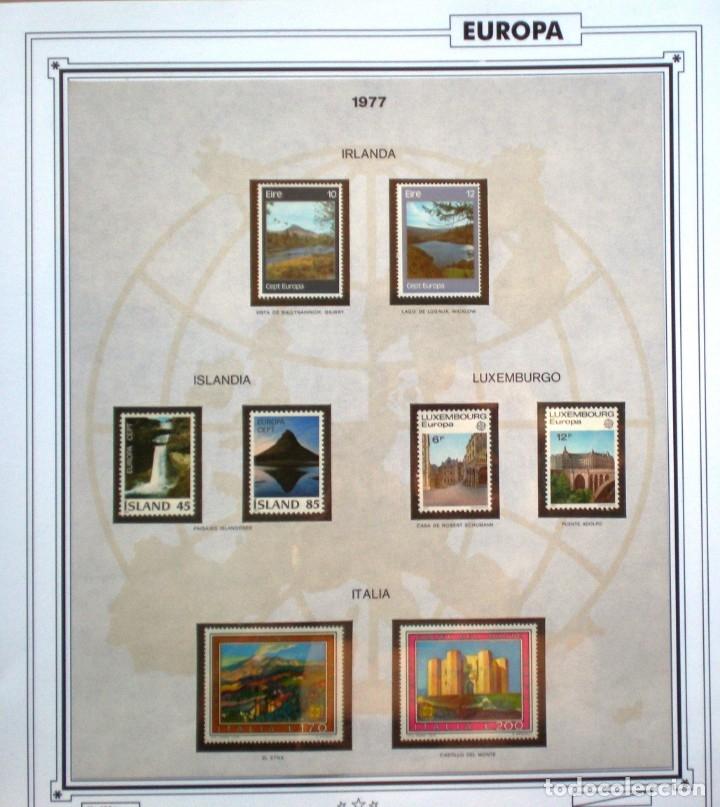Sellos: EUROPA CEPT AÑO 1977 COMPLETO NUEVOS * * 9 FOTOS - LEER COMENTARIO - Foto 5 - 176197714