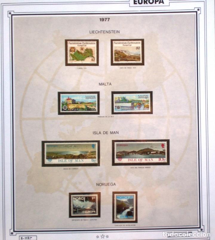 Sellos: EUROPA CEPT AÑO 1977 COMPLETO NUEVOS * * 9 FOTOS - LEER COMENTARIO - Foto 6 - 176197714