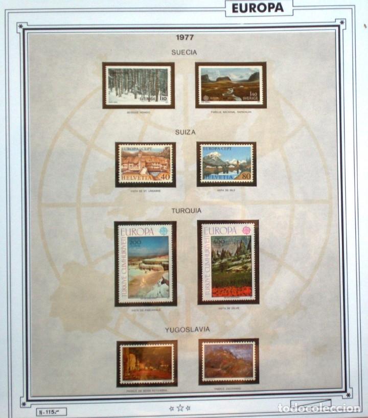 Sellos: EUROPA CEPT AÑO 1977 COMPLETO NUEVOS * * 9 FOTOS - LEER COMENTARIO - Foto 9 - 176197714