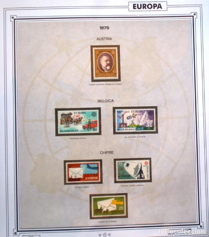 Sellos: EUROPA CEPT - AÑO 1979 COMPLETO - NUEVOS * * 10 FOTOS - LEER COMENTARIO - Foto 2 - 176199583