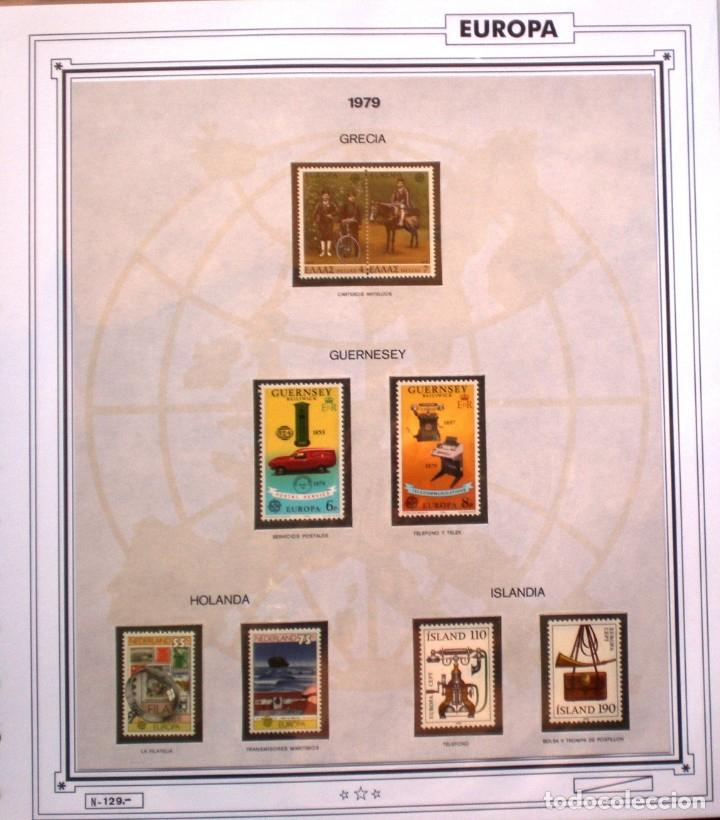 Sellos: EUROPA CEPT - AÑO 1979 COMPLETO - NUEVOS * * 10 FOTOS - LEER COMENTARIO - Foto 5 - 176199583