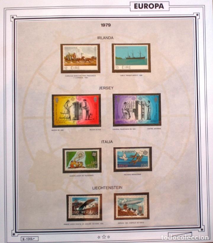 Sellos: EUROPA CEPT - AÑO 1979 COMPLETO - NUEVOS * * 10 FOTOS - LEER COMENTARIO - Foto 6 - 176199583