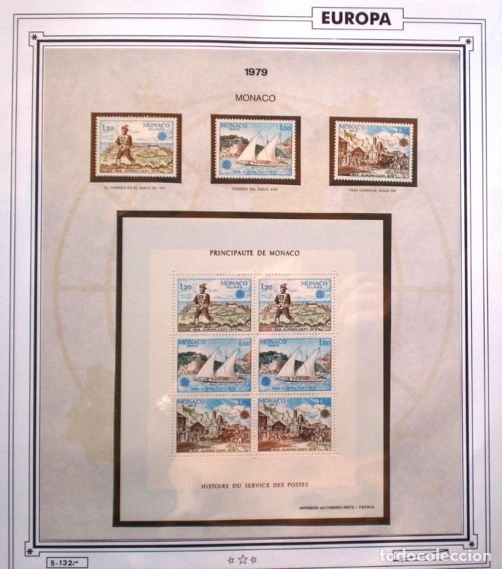 Sellos: EUROPA CEPT - AÑO 1979 COMPLETO - NUEVOS * * 10 FOTOS - LEER COMENTARIO - Foto 8 - 176199583