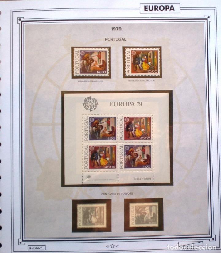 Sellos: EUROPA CEPT - AÑO 1979 COMPLETO - NUEVOS * * 10 FOTOS - LEER COMENTARIO - Foto 9 - 176199583