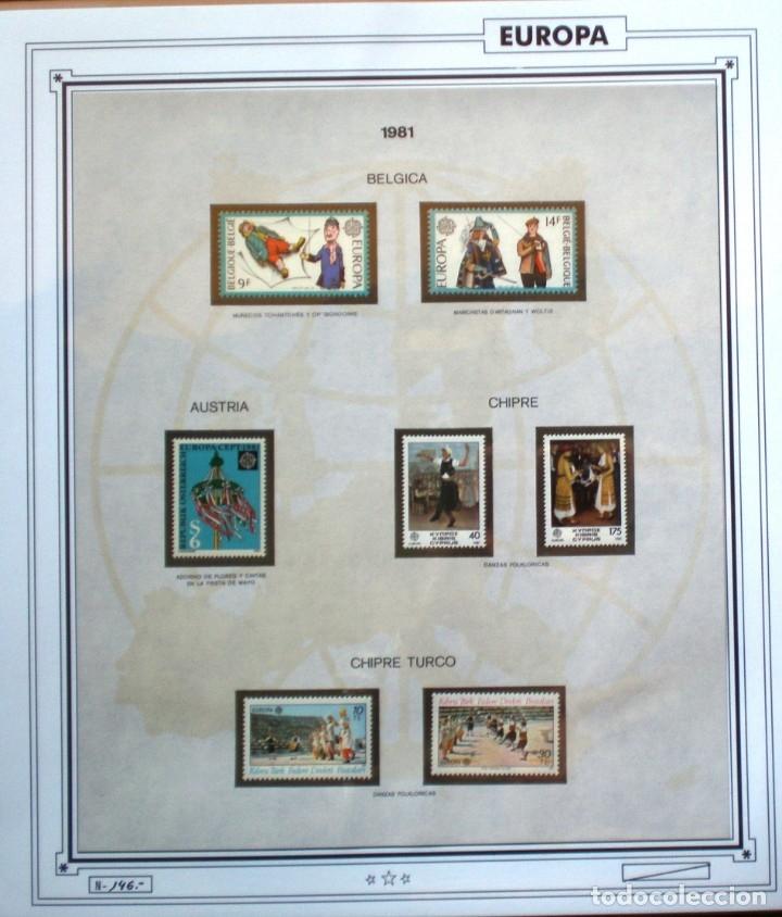 Sellos: EUROPA CEPT - AÑO 1981 COMPLETO - NUEVOS * * 12 FOTOS - LEER COMENTARIO - Foto 2 - 176229523