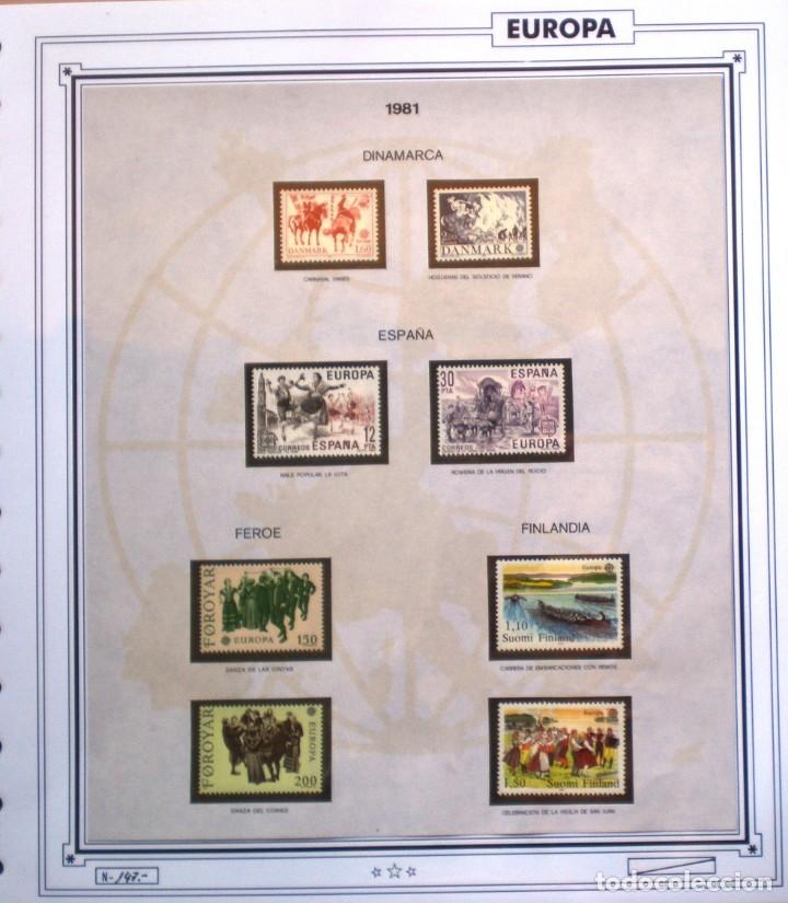 Sellos: EUROPA CEPT - AÑO 1981 COMPLETO - NUEVOS * * 12 FOTOS - LEER COMENTARIO - Foto 3 - 176229523