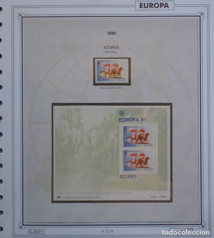 Sellos: EUROPA CEPT - AÑO 1981 COMPLETO - NUEVOS * * 12 FOTOS - LEER COMENTARIO - Foto 5 - 176229523