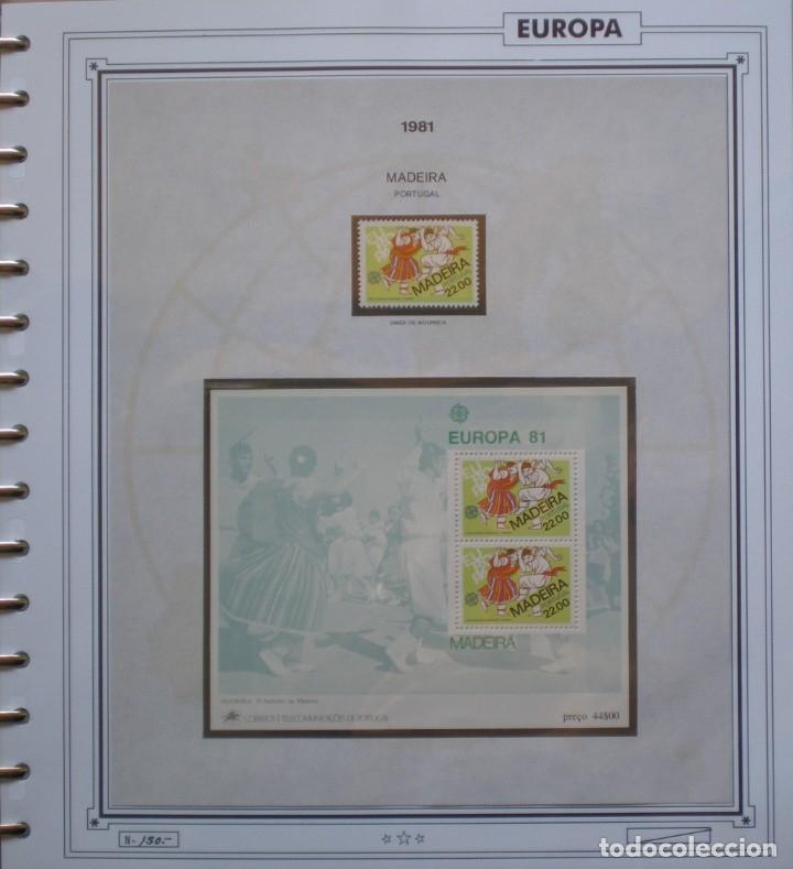 Sellos: EUROPA CEPT - AÑO 1981 COMPLETO - NUEVOS * * 12 FOTOS - LEER COMENTARIO - Foto 6 - 176229523