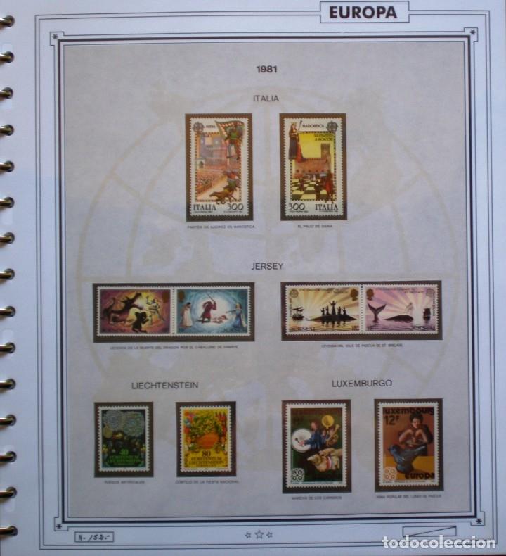 Sellos: EUROPA CEPT - AÑO 1981 COMPLETO - NUEVOS * * 12 FOTOS - LEER COMENTARIO - Foto 8 - 176229523
