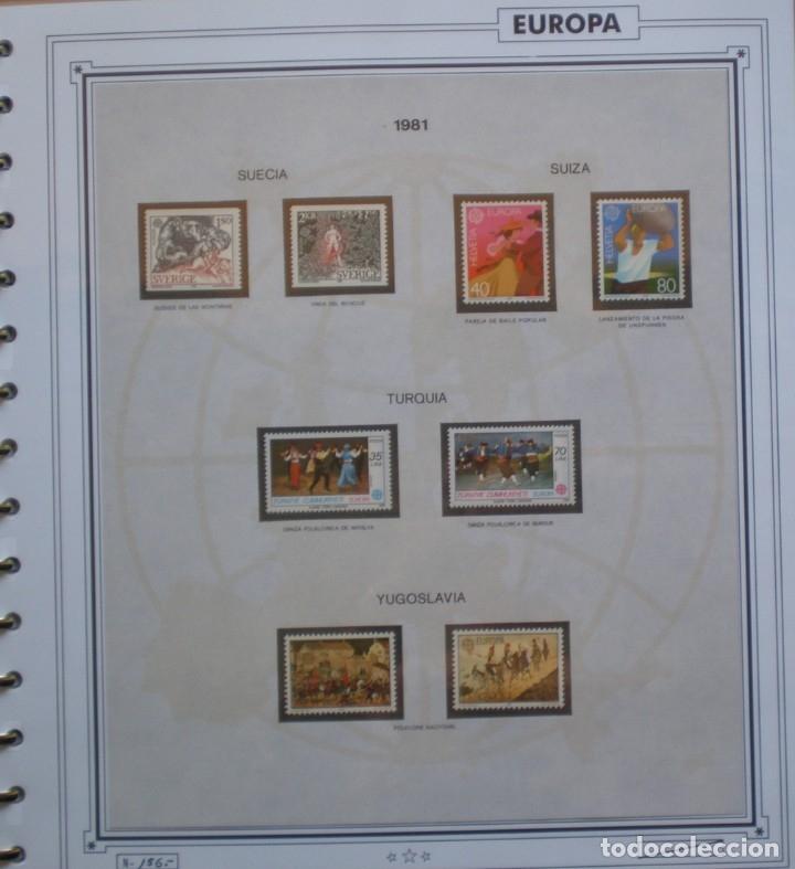 Sellos: EUROPA CEPT - AÑO 1981 COMPLETO - NUEVOS * * 12 FOTOS - LEER COMENTARIO - Foto 12 - 176229523