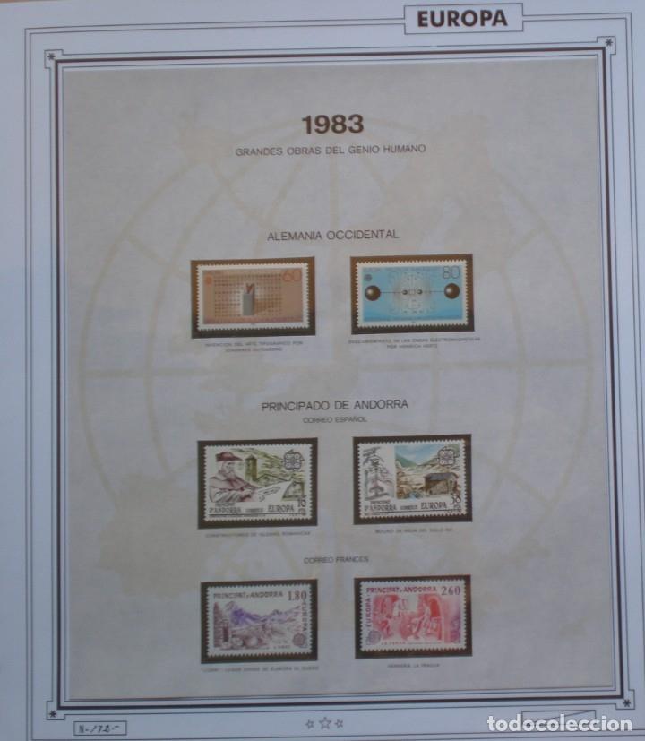 EUROPA CEPT - AÑO 1983 COMPLETO - NUEVOS * * 12 FOTOS - LEER COMENTARIO (Sellos - Extranjero - Europa - Rusia)