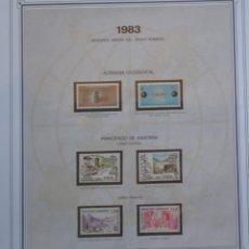 Sellos: EUROPA CEPT - AÑO 1983 COMPLETO - NUEVOS * * 12 FOTOS - LEER COMENTARIO. Lote 176230035