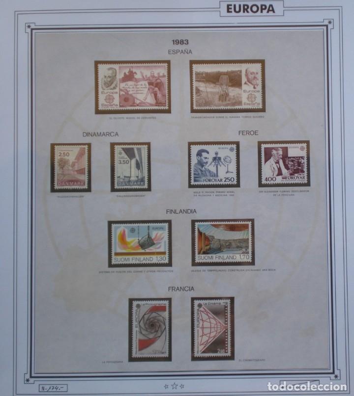 Sellos: EUROPA CEPT - AÑO 1983 COMPLETO - NUEVOS * * 12 FOTOS - LEER COMENTARIO - Foto 3 - 176230035