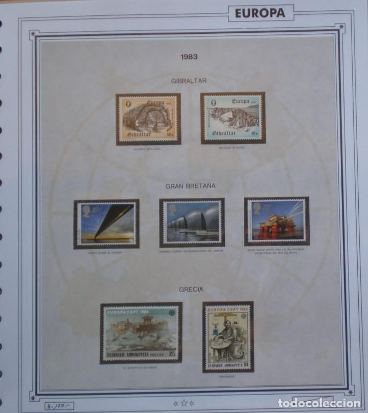 Sellos: EUROPA CEPT - AÑO 1983 COMPLETO - NUEVOS * * 12 FOTOS - LEER COMENTARIO - Foto 4 - 176230035