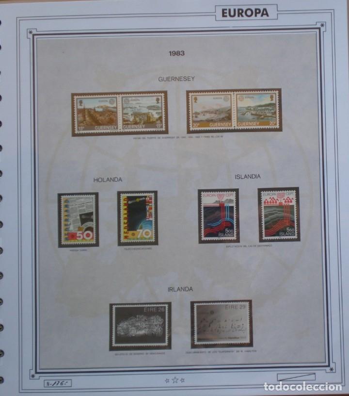 Sellos: EUROPA CEPT - AÑO 1983 COMPLETO - NUEVOS * * 12 FOTOS - LEER COMENTARIO - Foto 5 - 176230035