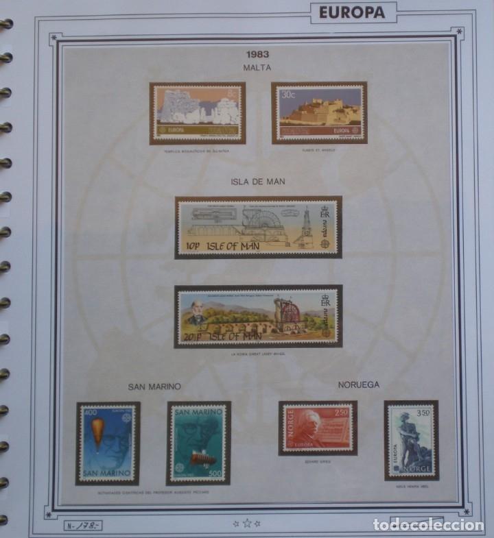 Sellos: EUROPA CEPT - AÑO 1983 COMPLETO - NUEVOS * * 12 FOTOS - LEER COMENTARIO - Foto 7 - 176230035
