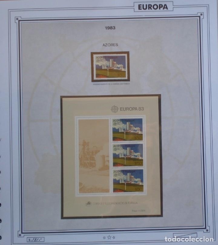 Sellos: EUROPA CEPT - AÑO 1983 COMPLETO - NUEVOS * * 12 FOTOS - LEER COMENTARIO - Foto 10 - 176230035