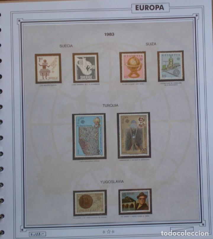 Sellos: EUROPA CEPT - AÑO 1983 COMPLETO - NUEVOS * * 12 FOTOS - LEER COMENTARIO - Foto 12 - 176230035