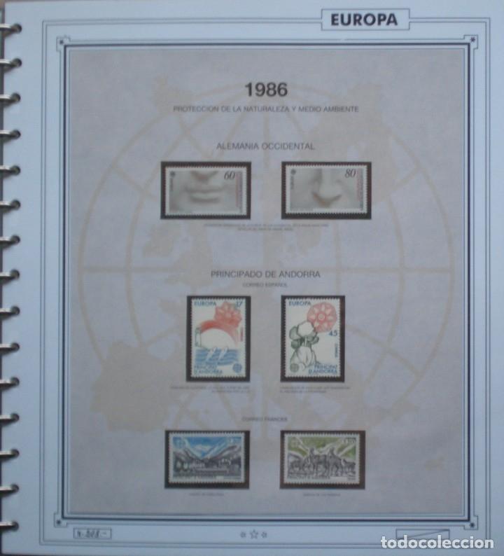 EUROPA CEPT - AÑO 1986 COMPLETO - NUEVOS * * 13 FOTOS - LEER COMENTARIO (Sellos - Extranjero - Europa - Rusia)