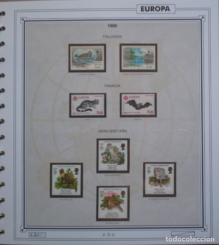 Sellos: EUROPA CEPT - AÑO 1986 COMPLETO - NUEVOS * * 13 FOTOS - LEER COMENTARIO - Foto 4 - 176612407
