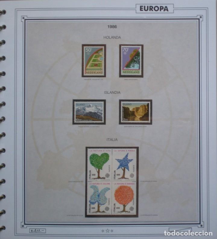 Sellos: EUROPA CEPT - AÑO 1986 COMPLETO - NUEVOS * * 13 FOTOS - LEER COMENTARIO - Foto 6 - 176612407