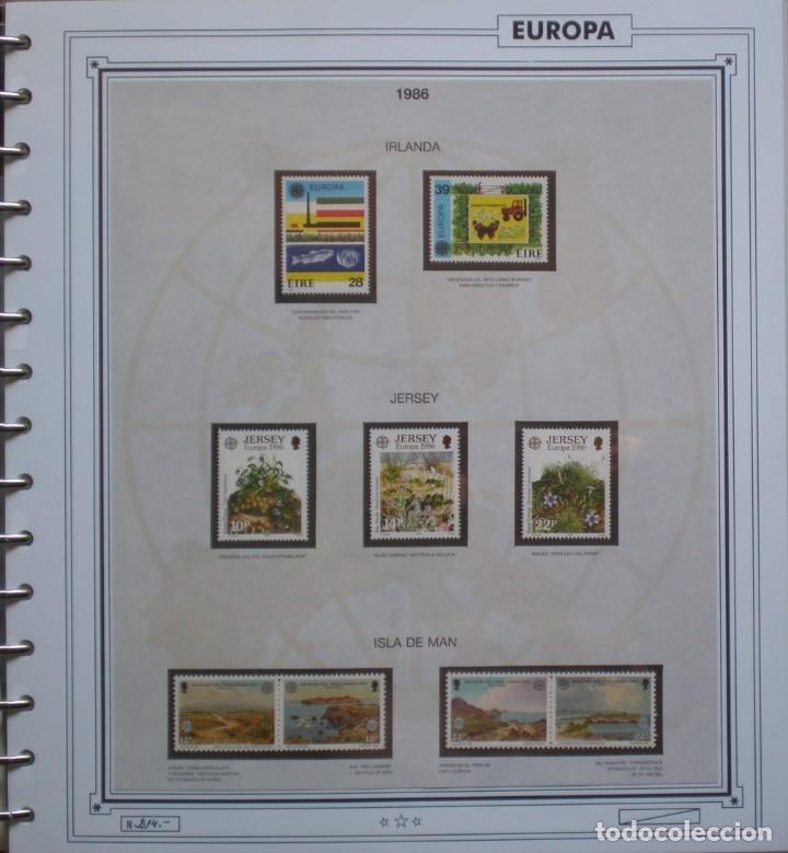 Sellos: EUROPA CEPT - AÑO 1986 COMPLETO - NUEVOS * * 13 FOTOS - LEER COMENTARIO - Foto 7 - 176612407