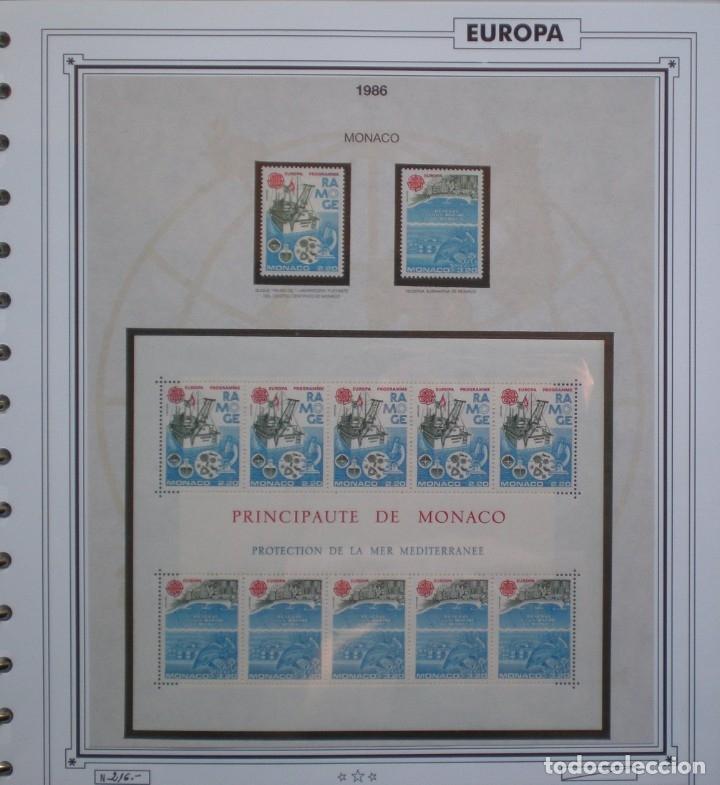 Sellos: EUROPA CEPT - AÑO 1986 COMPLETO - NUEVOS * * 13 FOTOS - LEER COMENTARIO - Foto 9 - 176612407