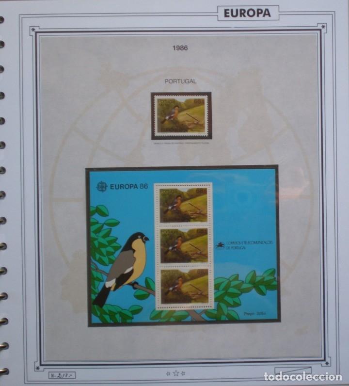 Sellos: EUROPA CEPT - AÑO 1986 COMPLETO - NUEVOS * * 13 FOTOS - LEER COMENTARIO - Foto 10 - 176612407