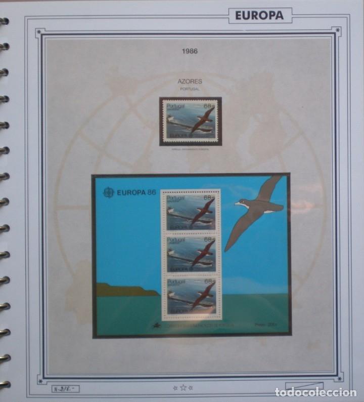 Sellos: EUROPA CEPT - AÑO 1986 COMPLETO - NUEVOS * * 13 FOTOS - LEER COMENTARIO - Foto 11 - 176612407